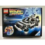 LEGO IDEAS 21103 Back To The Future DeLorean Time Machine- Sealed Box Excellent
