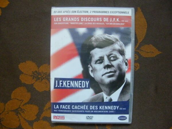 Bricy,FranceDVD J.F.K - 50 ANS APRES SON ELECTION , 2 PROGRAMMES EXCEPTIONNELS  NEUF (Slim)