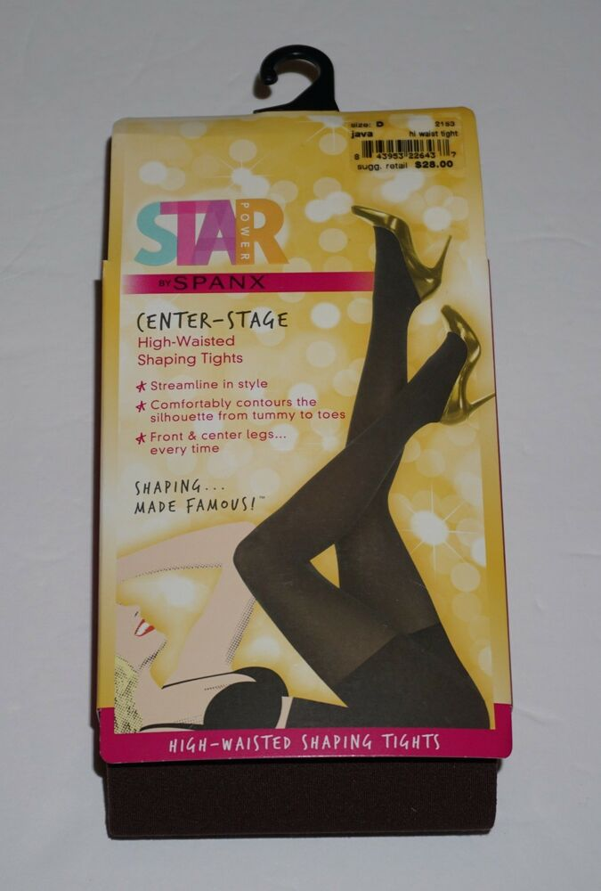 f654ac6a2 Details about NEW SPANX Star Power by SPANX High Waist Shaping Tights 2153
