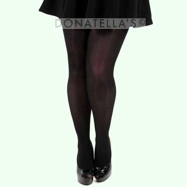 6a485b8d8fc Details about PLUS SIZE TIGHTS 40 70 80 DENIER 20 2x 22 24 26 3xl 28 30  semi microfbre opaque