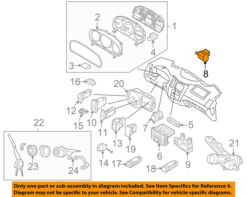 HYUNDAI OEM 11-15 Elantra-Outside Air Ambient Temperature Sensor 969853X000  702105271353 | eBay