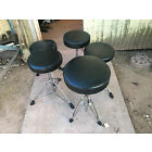 5 Drum Throne Seat Stool Chair Lot