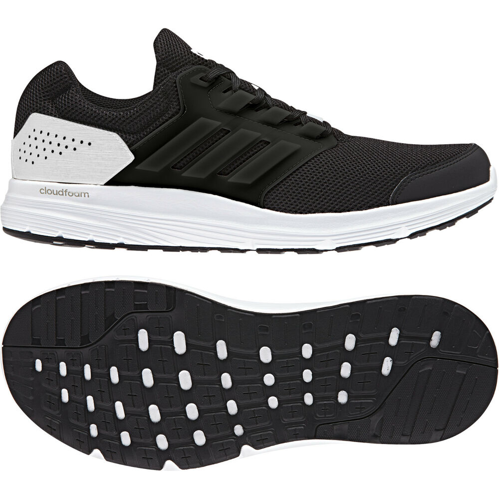 low priced 2be03 7c43d Details about Adidas Men Running Shoes Galaxy 4 Trainers Cloudfoam Training  CP8826 Black New