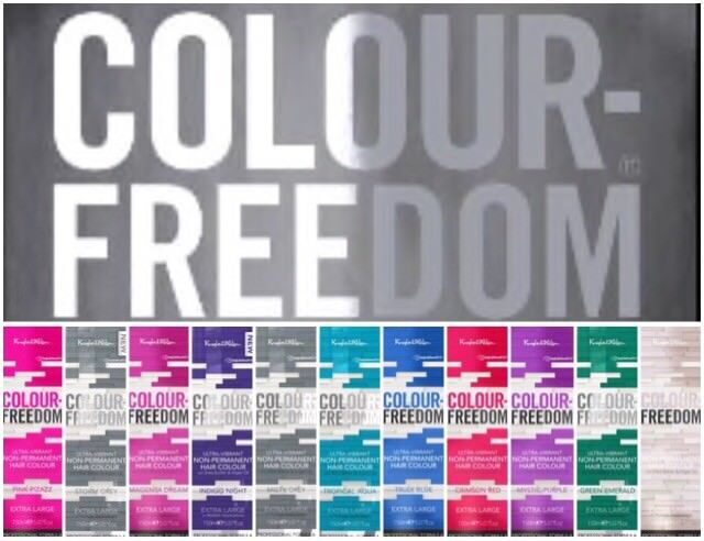 Knight   Wilson Colour Freedom - Non Permanent Hair Colour 150ml Extra  Large  20670923c836