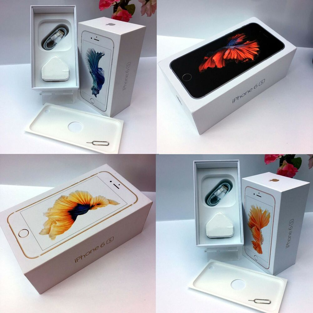 Apple ORIGINAL iPhone 6s empty box and Full Accessories ALL MEMORY SIZES |  eBay