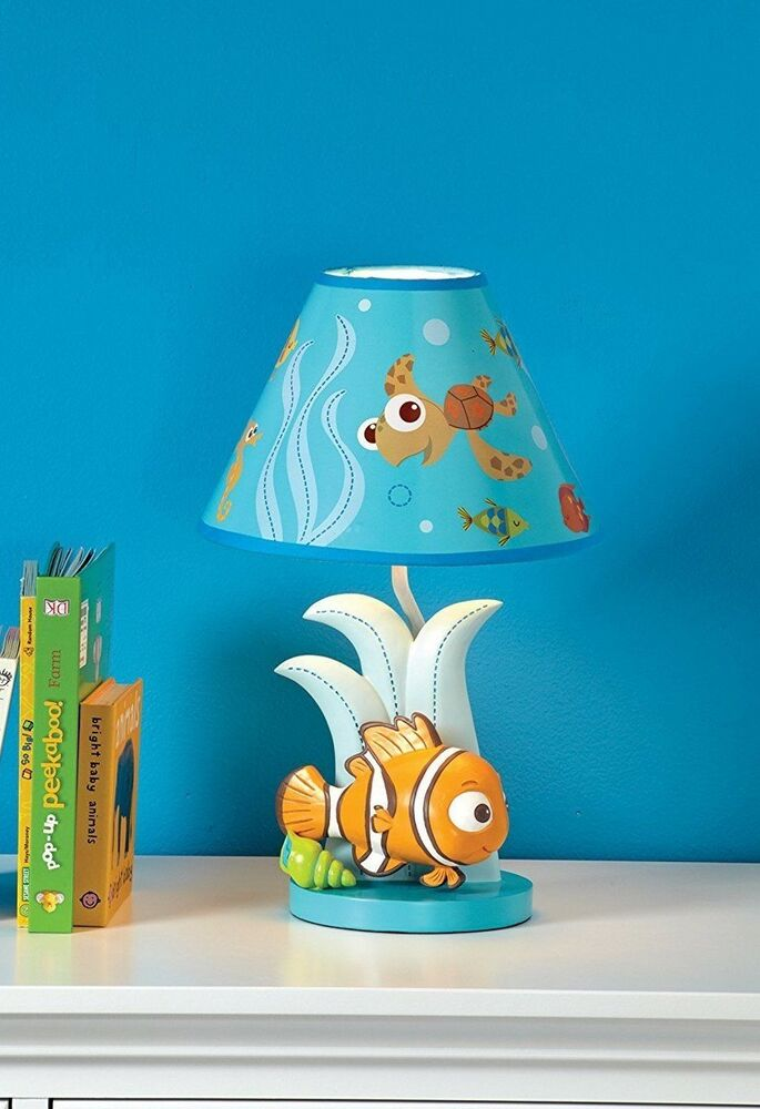 Finding Nemo Premier Lamp And Shade By Disney Baby Ebay