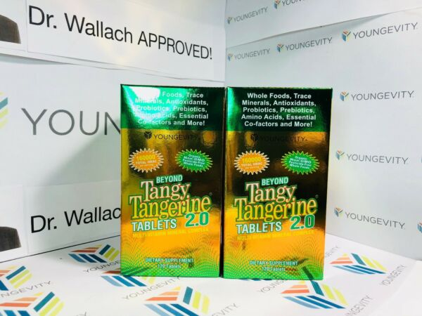 Beyond Tangy Tangerine 2.0 TABLETS (2) pack 160k ORAC! Dr. Wallach Youngevity