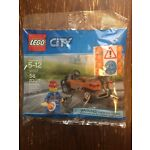 Lego City NEW 30357 Road Worker polybag 2018 promo exclusive construction FRIDAY