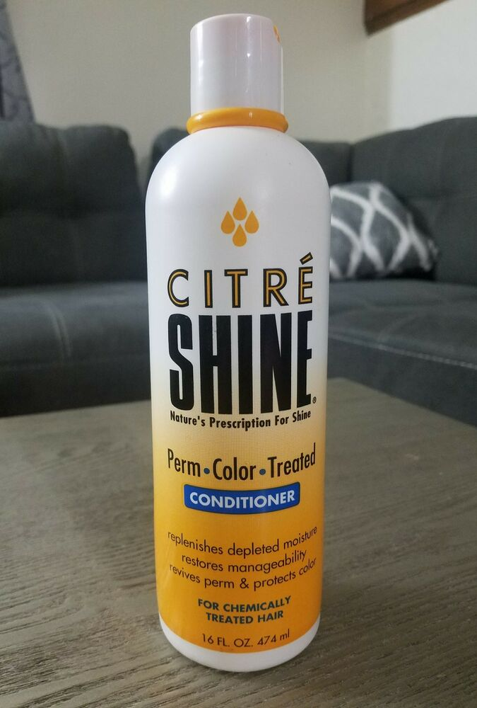 Vintage Citre Shine Conditioner 16 Oz For Chemically Treated Hair