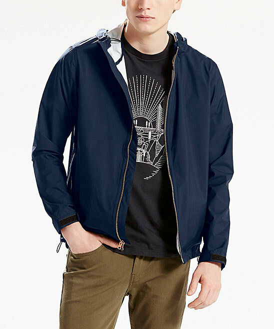 176dc4a1 Details about Levi's Men's Echelon Windbreaker Commuter - Blue Size S~$128