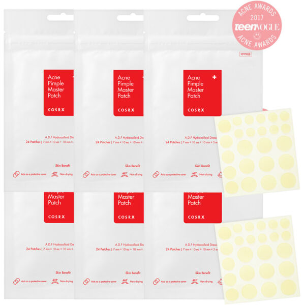 [COSRX] Acne Pimple Master Patch, 24 patches *6 sheets , Free shipping