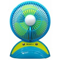 Multipurpose Rechargeable Fan With USB LED