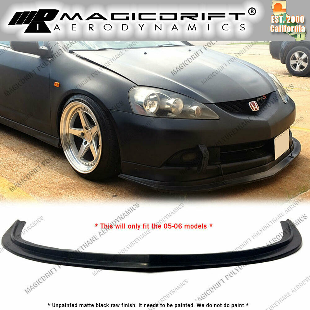 For 2005 2006 Acura RSX MDA Splitter Style Front Bumper