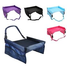 USA Waterproof Baby Kids Safety Travel Tray Drawing Board Table Car Seat Snack