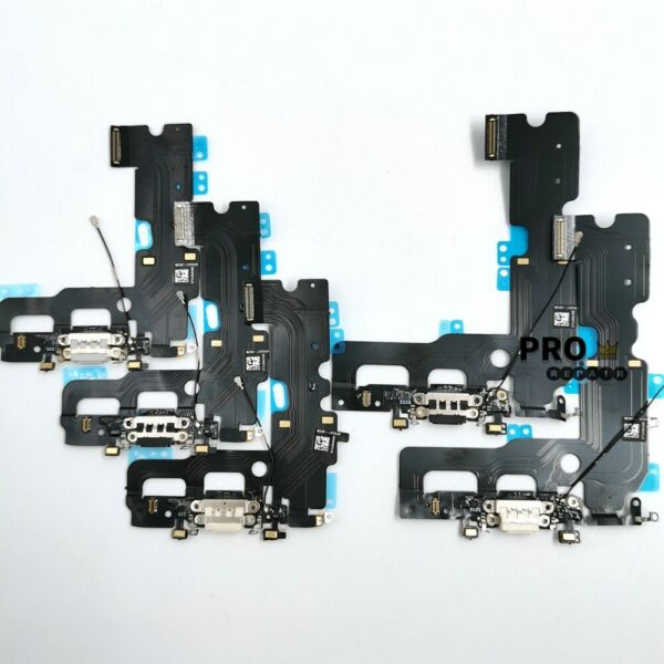 OEM Charging Port + Mic Audio Jack Flex Cable Replacement For iPhone 7 / 7 Plus