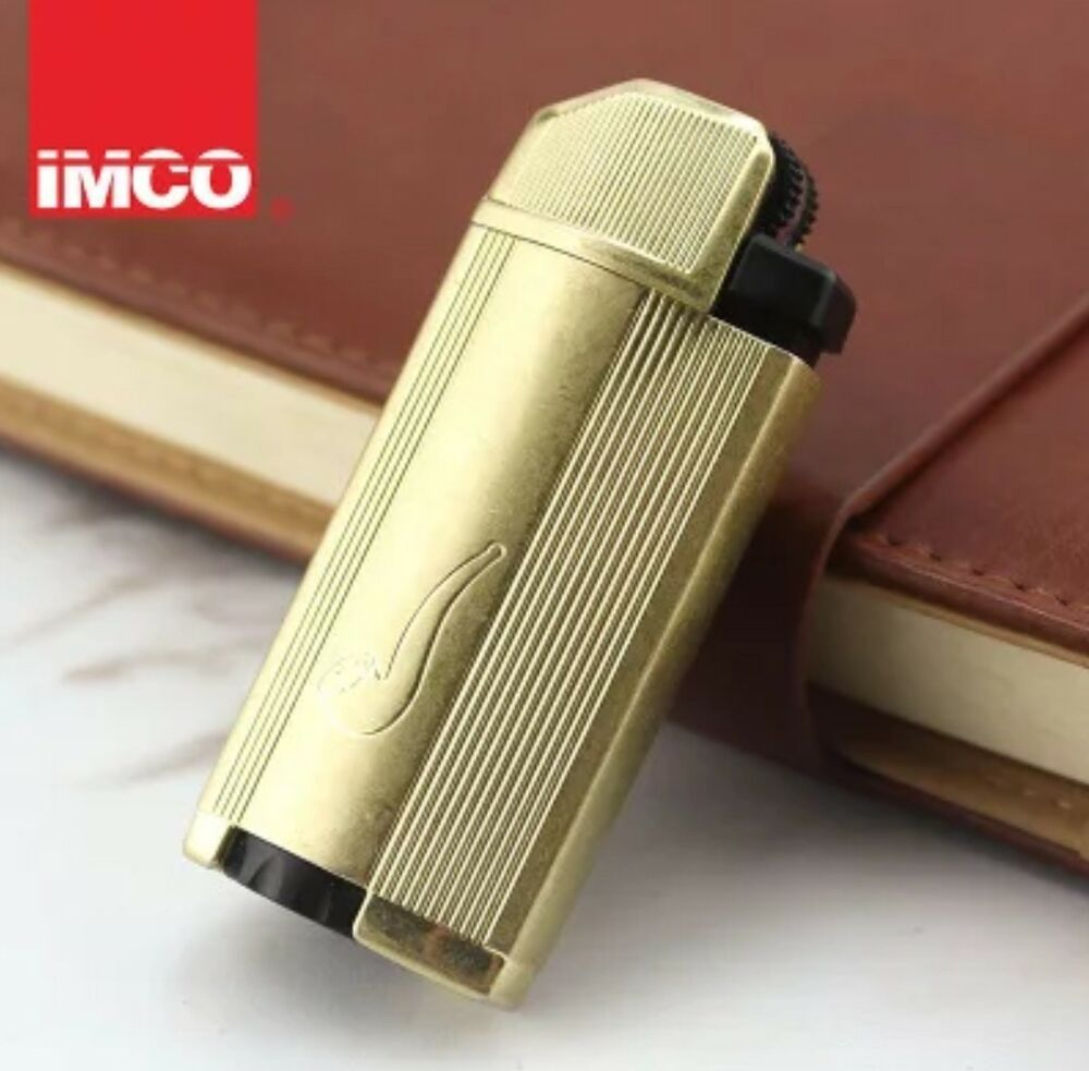IMCO 6300 Brass shell inflatable pipe lighter Pipe Cigarette