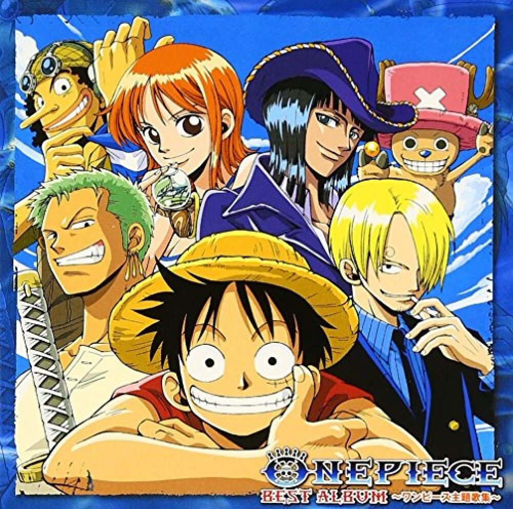 ONE PIECE BEST ALBUM - Theme Song Collection Japanese ...