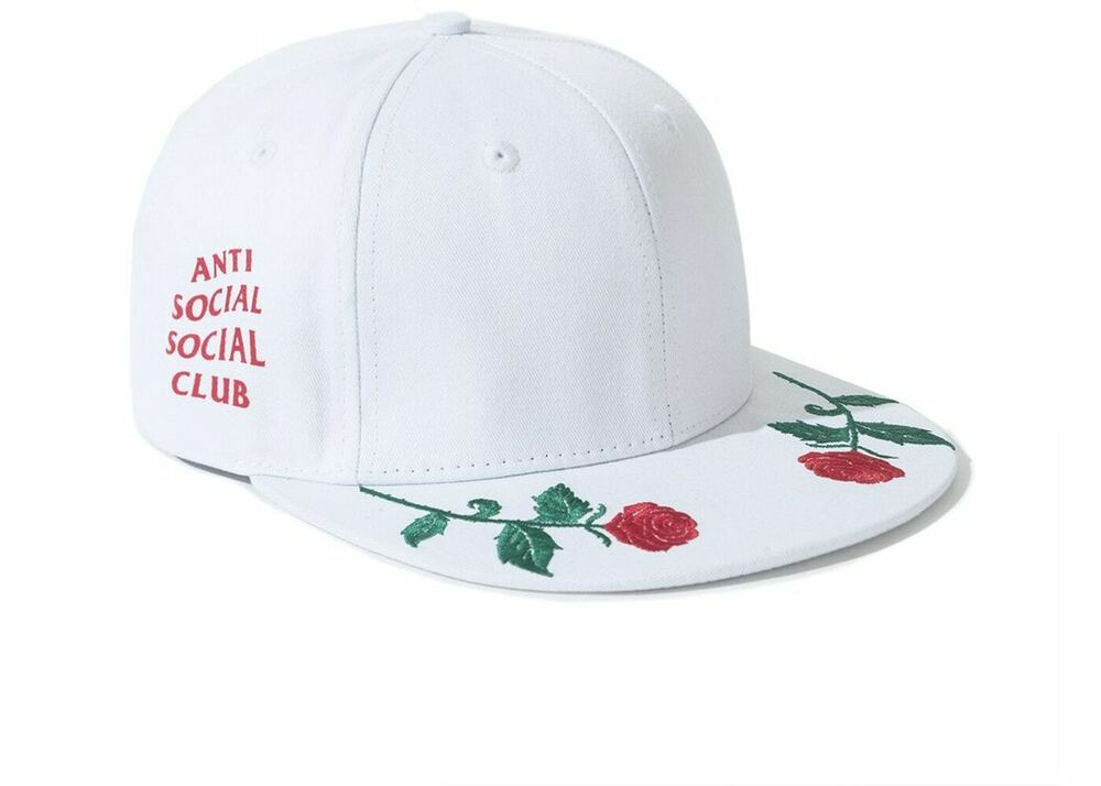 e5613f5354db7 Details about Auth ANTI SOCIAL SOCIAL CLUB Playboy x ASSC logo Hat black cap  in hand Supreme