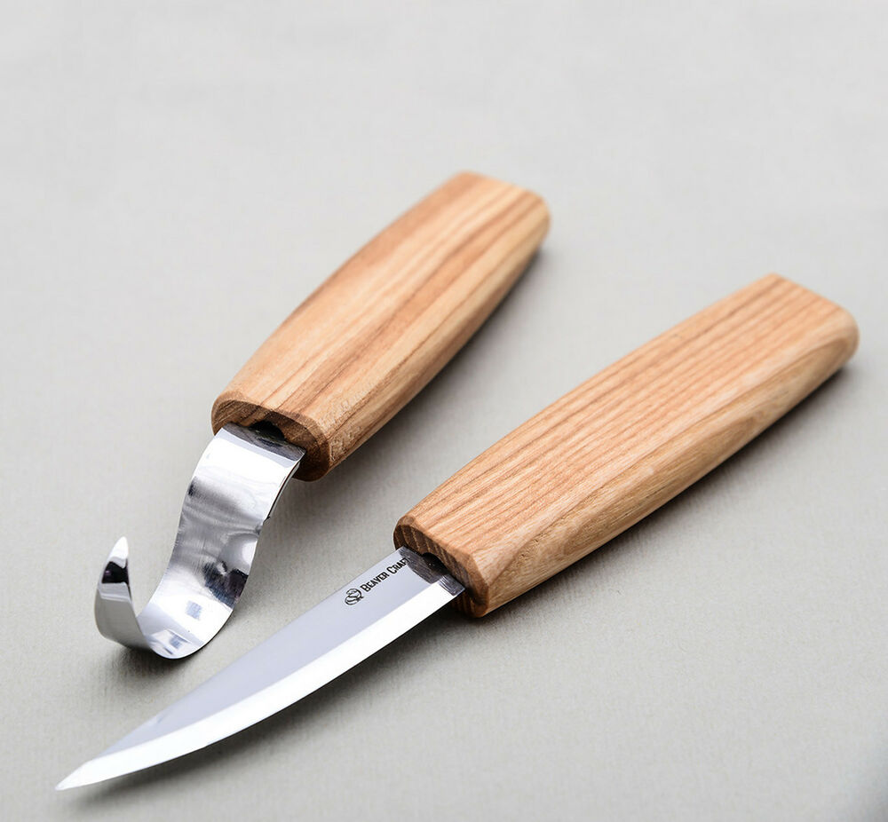 Spoon carving set woodcarving tools kit top hook knives