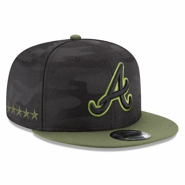 Details about Atlanta Braves Hat New Era 2018 Memorial Day Snapback MLB  9FIFTY Adjustable d897517a7b7