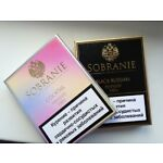 Sobranie London Cocktail and Sobranie Black Russian 2*20 collectible unoppened