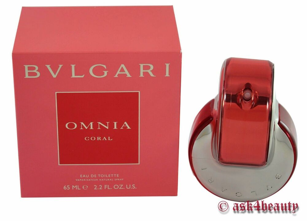 Bvlgari Omnia Coral 22oz65ml Edt Spray For Women New In Box