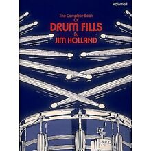 The Complete Book of Drum Fills Percussion Book NEW 006620603