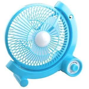 Rechargeable Fan With USB LED Light