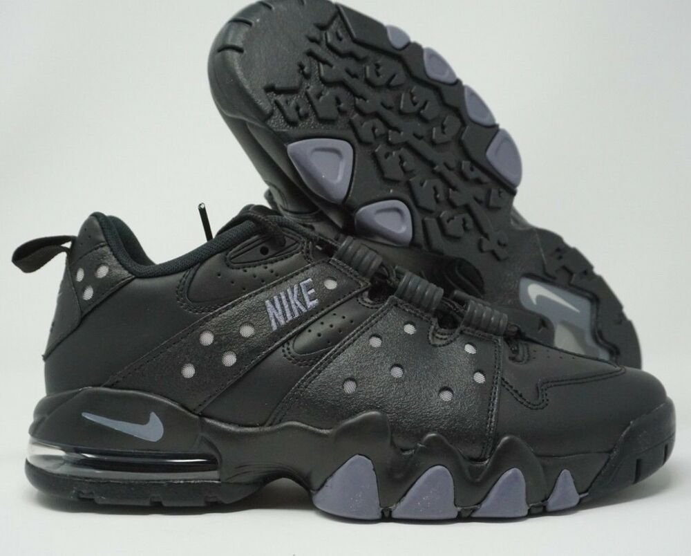 46d36269fe Nike Air Max 2 CB 94 Low Basketball Shoes Black Light Carbon 917752-003  Size 10 882801135989 | eBay