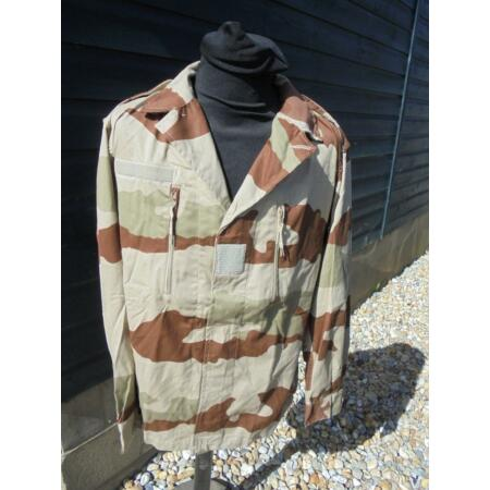 img-NEW French Military Army Desert Camouflage Shirt Sizes 88M 96L 104M 104L