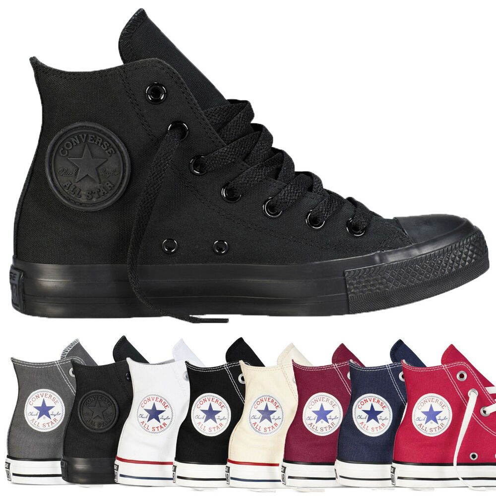 e8aa31465cf6 Details about Converse All Star Hi Tops Unisex High Tops Classic Colour  Chuck Taylor Trainers