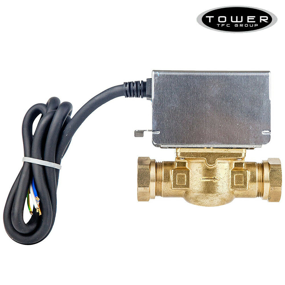 Tower 22mm 2 Two Port Motorised Zone Valve 5 Wire Replaces Honeywell Couk O View Topic Testing And Thermostat V4043h 5028415001042 Ebay
