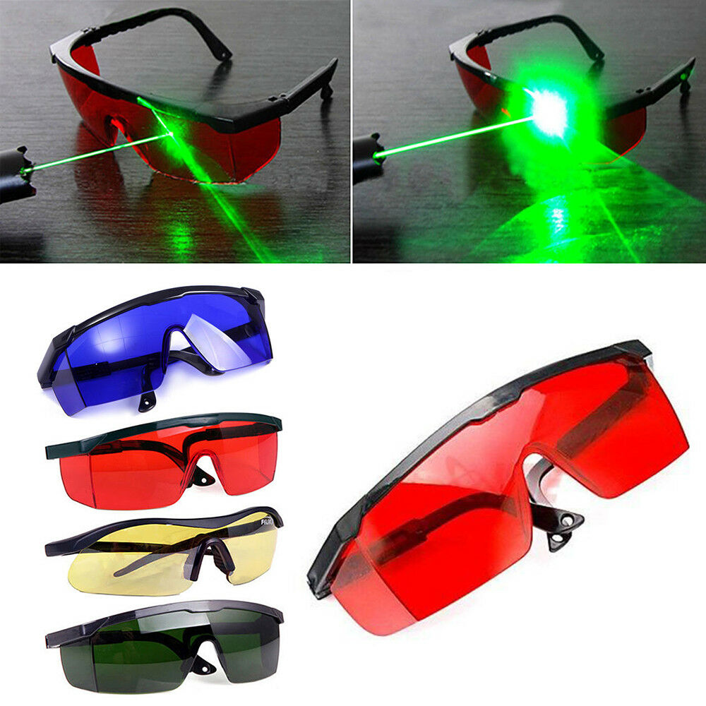 2ae1e56f1583 Details about UK Safety Glasses Eye Spectacles Protection Red Laser Safety  Goggles Protective