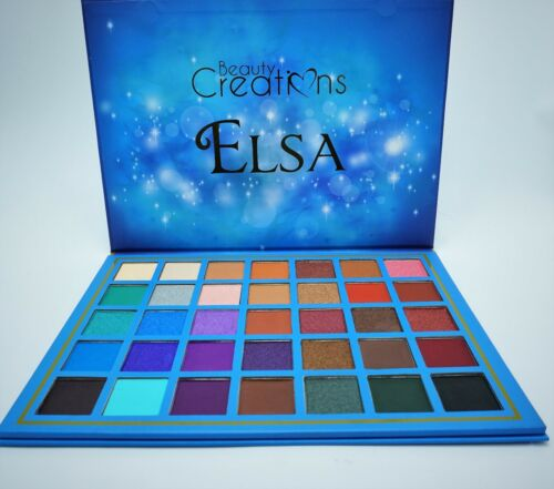 Beauty Creations Elsa  Eyeshadow Palette 35 Color  *NEW* Free shipping