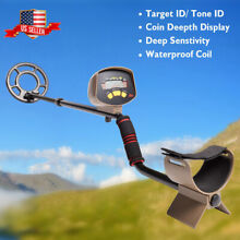 MD-4060 Deep Sensitive Ground Metal Detector Waterproof Search Coil Gold Hunter