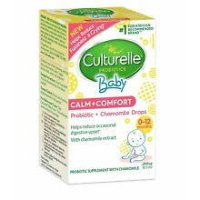 Culturelle Baby Calm + Comfort Probiotics + Chamomile Drops - Sealed Box - Fresh
