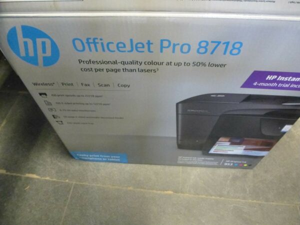 imprimante HP office jet pro 8718 ( occasion ) (3)