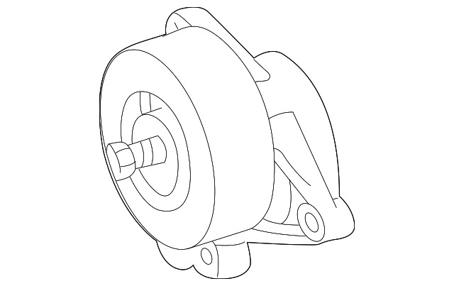 Genuine Mercedes Benz Serpentine Tensioner 112 200 09 70