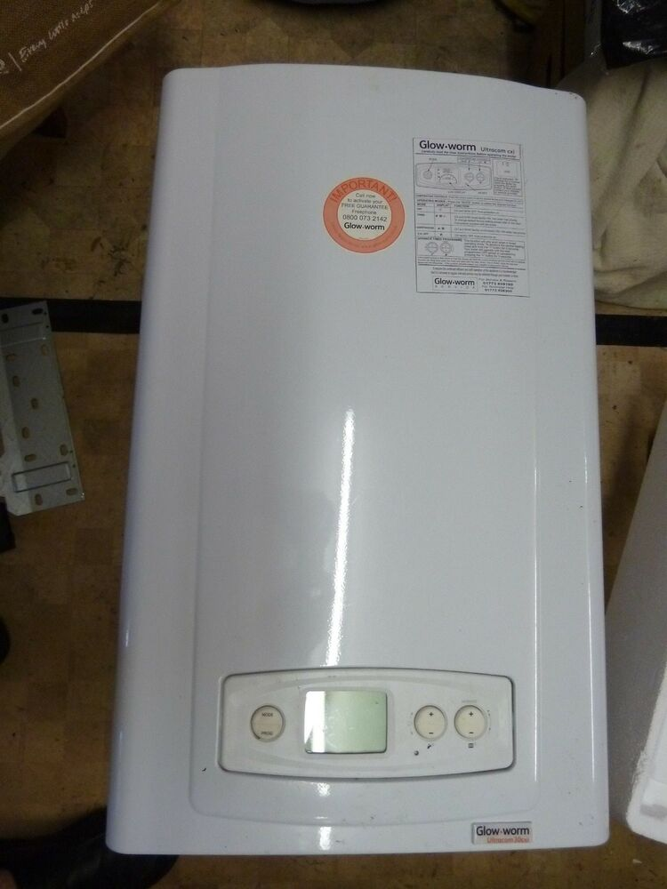 Glow worm combi boiler Ultracom 30cxi Natural Gas 8 years old | eBay