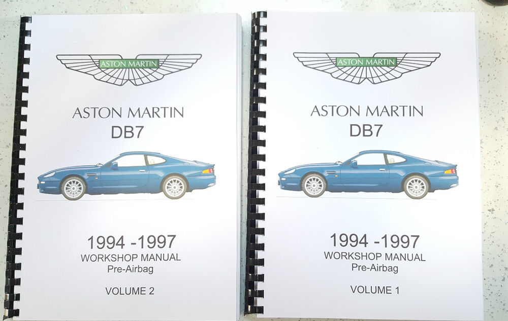 aston martin db7 workshop manual 94 97 pre airbag reprinted comb rh ebay co uk aston martin db7 service manual pdf aston martin db7 service manual pdf
