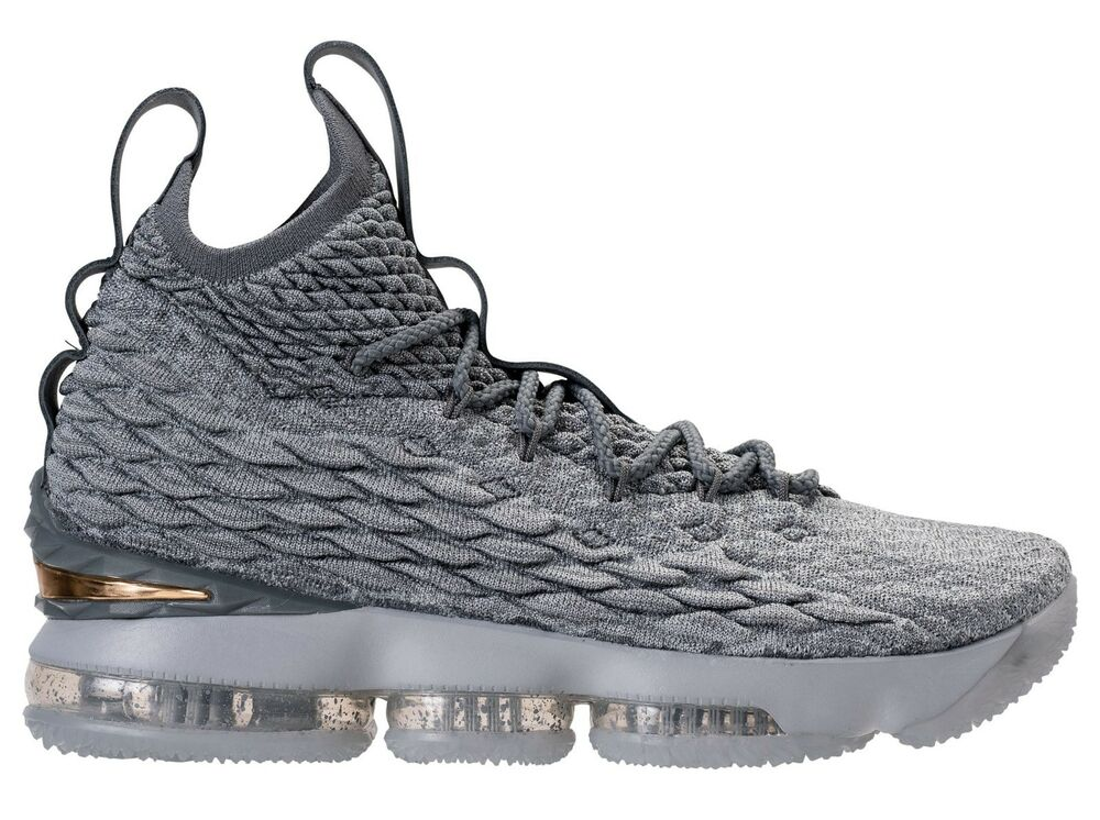 e4b3c7d25f60 Details about Nike Lebron 15 XV size 14. Wolf Grey Metallic Gold. 897648-005 .