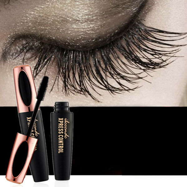 4D Fiber de soie Extension Mascara maquillage Kit étanche Cils Eye Lashes Long