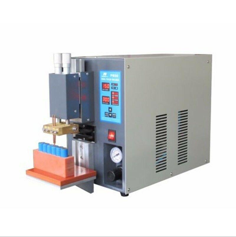 Welding Equipment Tools Microcomputer Dual Pulse Pneumatic Battery Spot Welder For Battery Pack Pr50 High Quality 8f Cheapest Price From Our Site