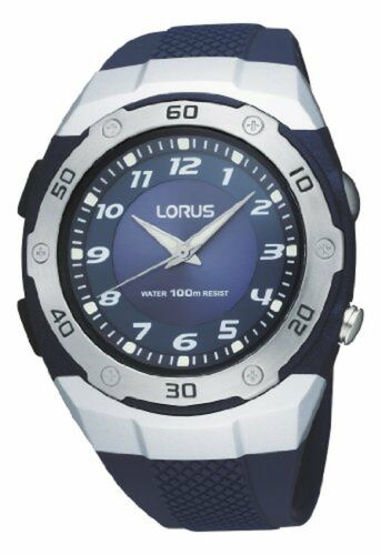 Lorus Mens Analogue Quartz Watch With Torch R2331DX9 RRP £29.99