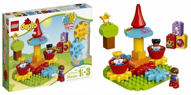 Lego 10845 Duplo My First Carousel Educational Toy 24 Pieces Ebay