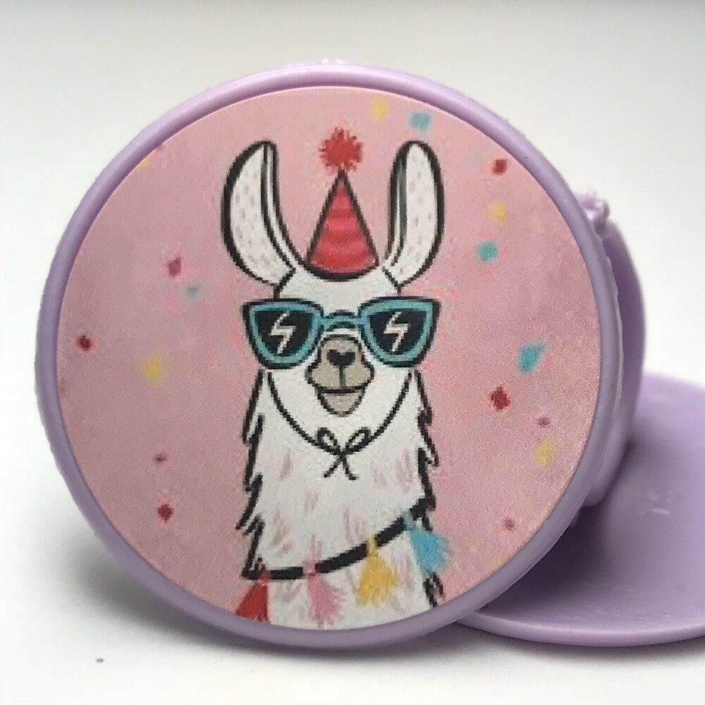 Llama Cupcake Toppers Rings Birthday Party Favors - 16 pcs ...