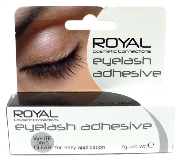 3295efc169f Royal False Eyelash Adhesive White Dries Clear Fake Lash Glue