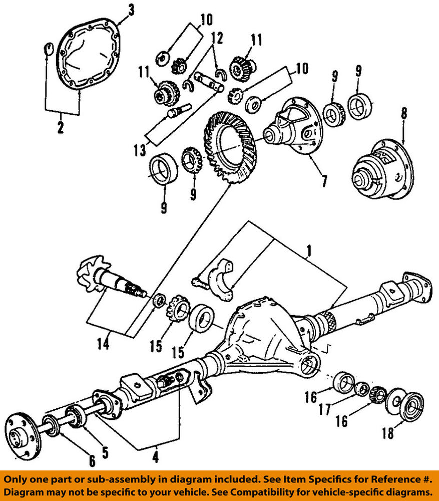 ford oem 01 09 ranger rear axle shafts f87z4234ba ebay 1989 Ford Ranger Wiring Diagram