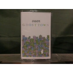 Owen - Ghost Town CASSETTE TAPE - SEALED - New - American Football EMO