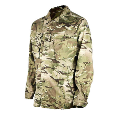 img-Brand New British Army Barrack Jacket Combat Tropical Weather MTP Several Sizes